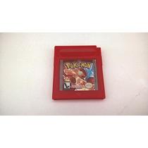 Pokemon Red Original Americano Game Boy Color Nintendo
