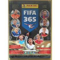 Álbum De Figurinhas Fifa 365 2017 - Completo - Para Colar