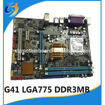 Tarjeta Madre Chipst Intel G41 775 Ddr3 1333/800 Motherboard