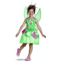 Disfraz Campanita Tinkerbell Importado Talla 3t-4t Nuevo