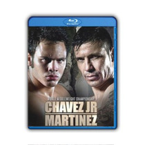 Blu-ray Jc Chavez Jr Vs Maravilla Martinez Pelea + 24/7