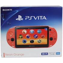 Psvita Ps Vita Sony Wi-fi Original Neon Orange