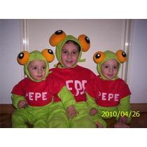 Disfraz Del Sapo Pepe Y La Sapa Pepa , Bebes , Niñas Y Niños