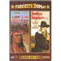 Sangue Apache E Justiça Implacavel Lei 2filmes Dvd Raro Novo