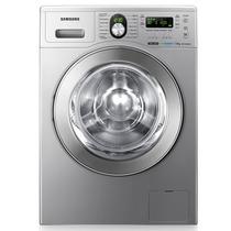 Lavarropas Samsung Wf1702weuu Silver 7kg 1200rpm Aaa Un Lujo