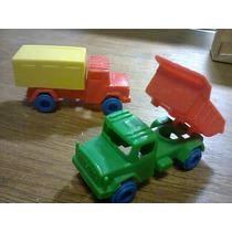 Mini Caminhões(de Feiras Livres) Lote Com 4 Por R$32,00