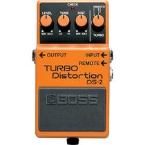 Pedal Boss Ds2 Guitarra Distorção Boss Turbo Distortion Ds2