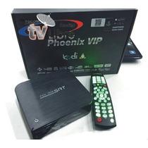 Kit Tocomsat Phoenix Vip Fta Full Hd+ Antenas+lnb Skyfreetv