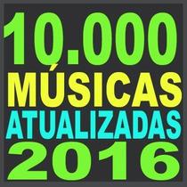 Músicas Dj São 10 Mil 65gb 2016 Funk Eletro Sertanejo House