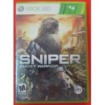 Sniper Ghost Warrior Para Xbox 360