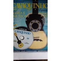 Vídeo Aula Para Cavaquinho Revista + Dvd Frete Grátis