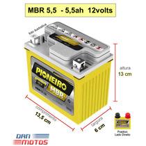 Bateria Moto 5,5 Amperes Factor Ybr 125 12n5,5 Rd 135