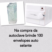 Autoclave Horizontal Digital Extra 4 Litros Inox Stermax