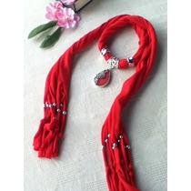 Mascada Collar Pashmina Moda, Bisutería Oferta Envío Gratis