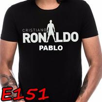 Playera Real Madrid Cristiano Ronaldo Cr7 Personalizada E151
