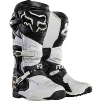 Botas Fox Comp 8 Blanca Mx 2016 Motocross Atv Talla 8