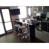 Barra, Desayunador, Aluminio 36 Mm, Bodega, Mueble Estantes