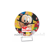 20 Relógio Mickey Personalizados, Lembrancinhas Aniversário