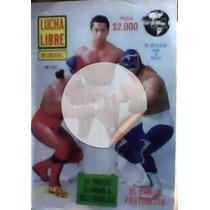 Revista De Lucha Libre,portada Historica,unica En El Mercado