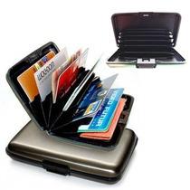 Aluma Wallet Cartera Billetera Protectora Como En Tvclas13