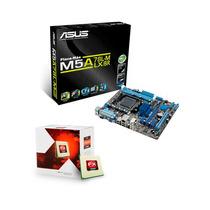 Kit Placa Mae Asus M5a78l-m Lx + Proc Amd Six Core 6300 3.5g