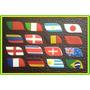 Etiquetas Para Tiras De Chinelos - Países Da Copa Do Mundo
