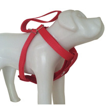Cinto De Segurança Para Cães Com Fivela E Peitoral Em Seda G