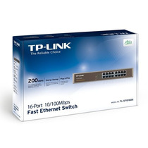 Switch 16p 10/100 Para Rack 19 Tplink Tl-sf1016ds