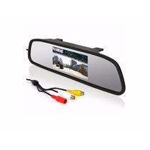 Retrovisor Espelho Tela Lcd 4.3 P/ Câmera Ré Estacionamento