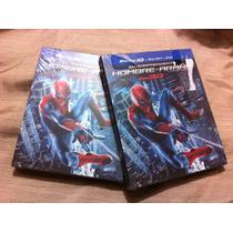 El Sorprendente Hombre Araña - Bluray - 3d - Dvd Spiderman