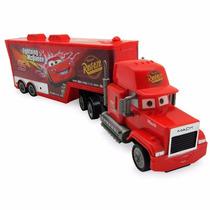 Caminhão Carreta De Fricção - Relampago Mack Carros Macqueen