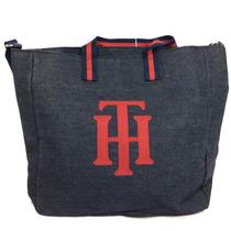 Bolsa Tommy Hilfiger Mezclilla Azul 100% Original