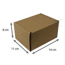 Embalagem Papelão Para Correio - Medidas - 14x11x8 - 25 Und