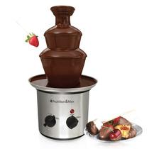 Fuente De Chocolate Chamoy Fondue De Acero Inoxidable 40 Cm