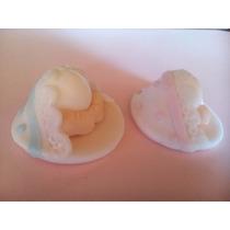 10 Souveniers Nacimiento, Baby Shower En Porcelana Fria