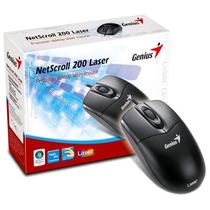 Mouse Laser Genius Netscroll 200 Usb 1600 Dpi