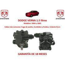 Bomba Licuadora Direccion Hidraulica Dodge Verna 1.5lts 2005
