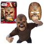 Mascara Electronica Chewbacca Star Wars Halloween Disfraz 32