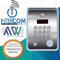 Intercomunicador Gsm 400 De Awellgo