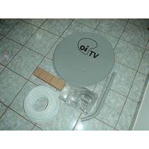 Antena De Chapa 60cm Com Logo Oi Tv Pac 05