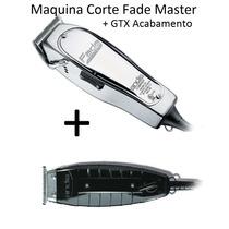 Kit 01 Maquinas Corte Master + 01 Gtx Acabamento Andis