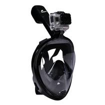 Visor Snorkel Mascara Fullface C/adaptador Gopro Superprecio