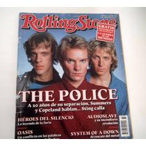 Revista Rolling Stone The Police Julio 2011