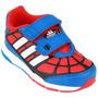 Zapatillas Adidas Spider Man Niños Ultima Con Abrojo Talle19