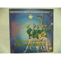 16 Exitos Del Trio Matamoros 1985 Lp Semi Nuevo Mexicano