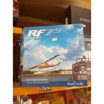 Simulador Rf 7.5 Com Radio Futaba Interlink Incluido