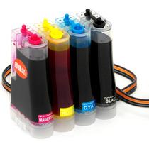 Bulk Ink P/ Impressora Multifuncional Hp 1510 C3180 C4280