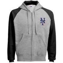 Majestic Mets De Ny Sudadera Full Zip Bordadas Ultimas