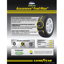 195/65r15 Llanta Goodyear Assurance Fuel Max Rango 89h