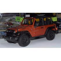 1:18 Jeep Wrangler Willys 2014 Convertible Cobre Maisto